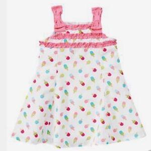 Gymboree 2t ice cream cone dress w diaper cover
